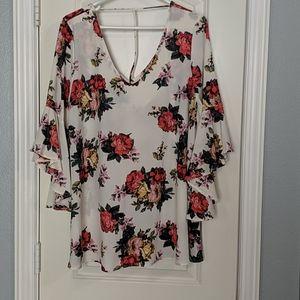 Mittoshop floral top